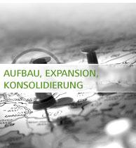 Aufbau | Expansion | Konsolidierung